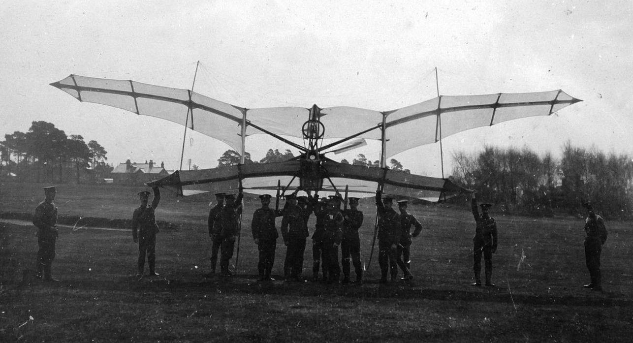 Breguets Pre 1914 Aircraft Id Challenge Index Scout Ii Ignition Wiring Diagram 905 Etrich Rampenstartgleiter